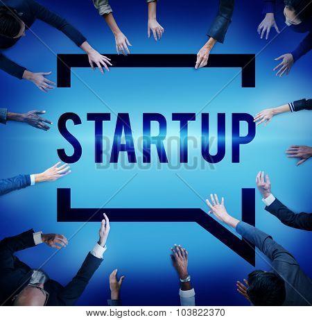 Startup Business Plan Innovation Planning Concept