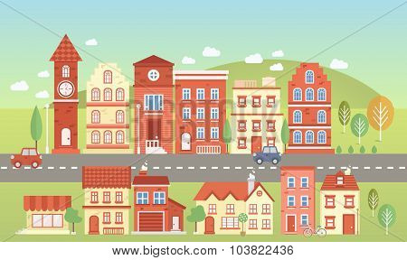 Vecor Town Set