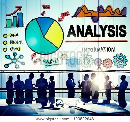 Analysis Analytics Bar graph Chart Data Information Concept