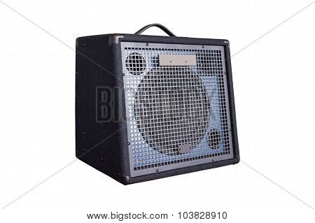 Keyboard Power Amplifier Isolated On White Background