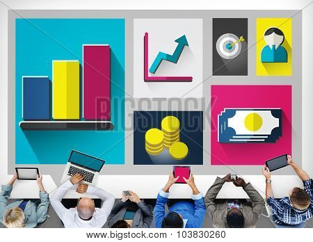 Business Growth Success Finance Economy Concept