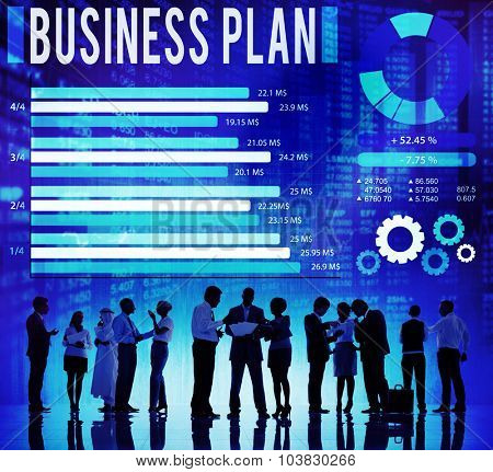 Business Plan Strategy Planning Vision Concept