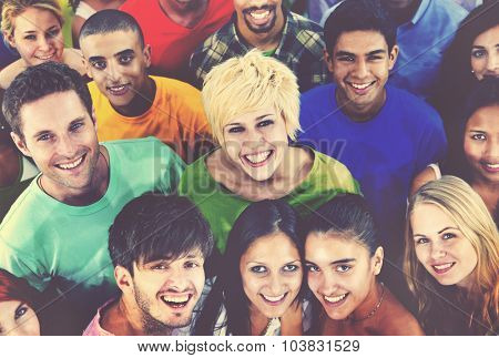 Diverse People Friends Community Concept