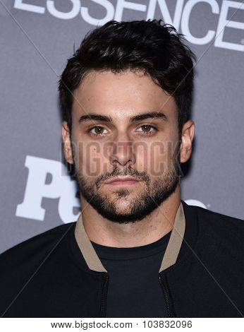 LOS ANGELES - SEP 26:  Jack Falahee arrives to the TGIT Premiere Red Carpet Event  on September 26, 2015 in Hollywood, CA.