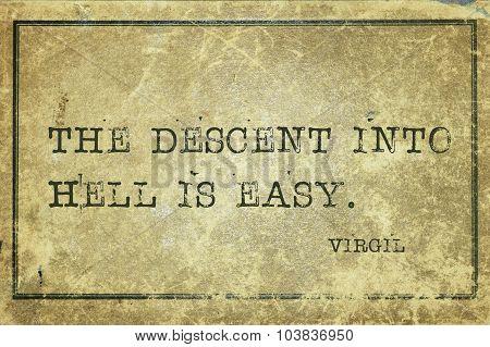 Descent Virgil