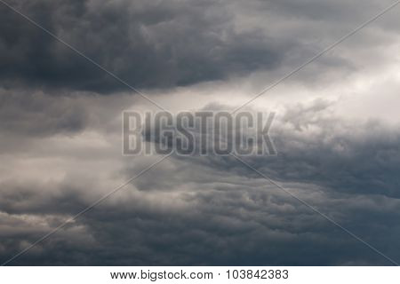 Dark Ominous Sky