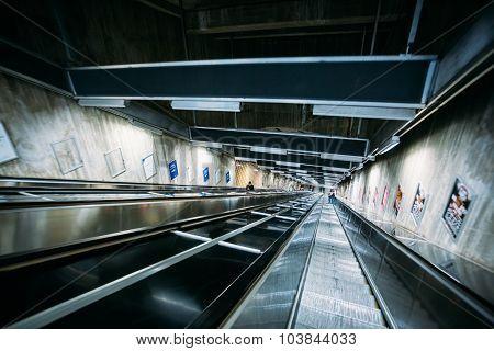 Stockholm Metro Train Station, Sweden