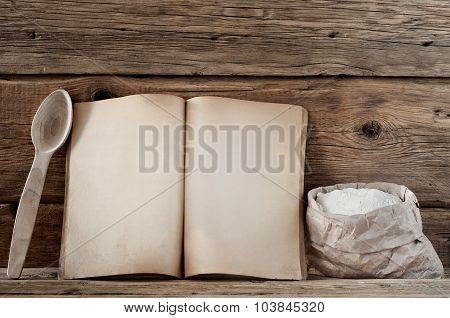 Kitchen Book With Blank Pages