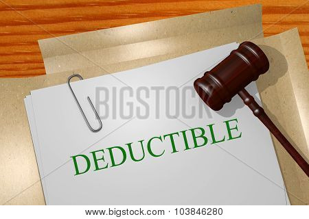 Deductible Concept