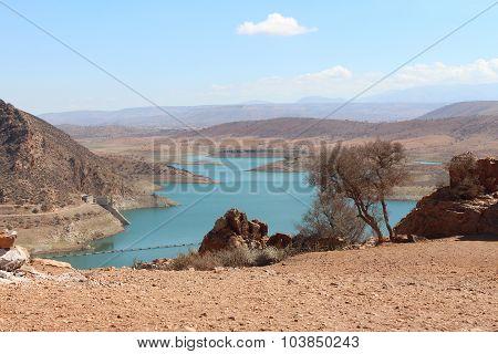 Barrage Al massira, Morocco.