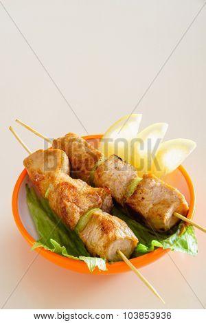 tasty kebabs