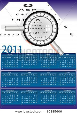 2011 Optomety Eu Style Calendar.eps