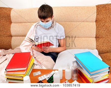 Sick Teenager Read The Book