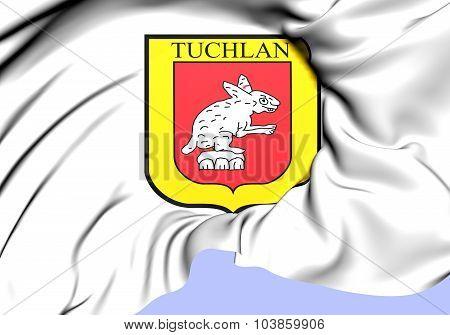 Flag Of Tuxtla Gutierrez City, Mexico.
