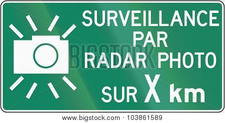 Surveillance By Radar Photo For X Kilometers In Canada