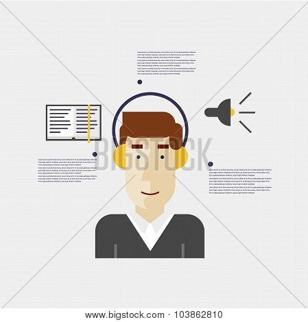 Audio-book Infographic