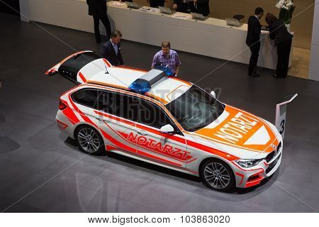 Bmw F31 3 Series Touring As An Emergency Vehicle
