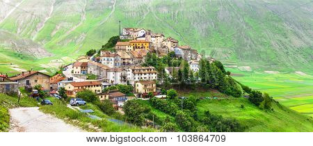 Castelluccio di Norcia -one of the most beautiful villages in It