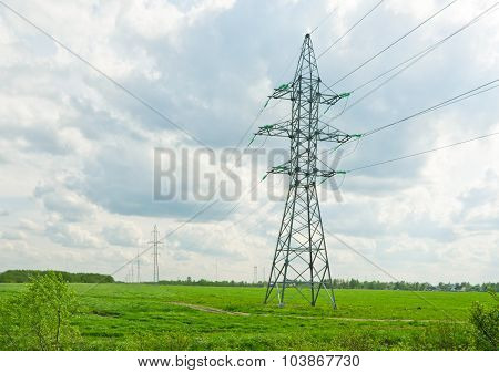 Supports for power lines