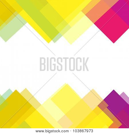 Abstract colorful background with space for text