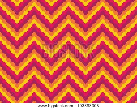 Vector Modern Seamless Colorful Geometry Pattern Shevron