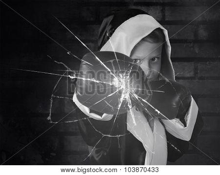 Little Boxer Crush A Glass