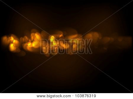 Shiny sparkling abstract vector background