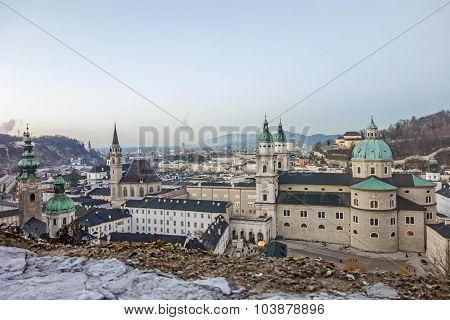 Cathedral Of Salzburg, Austria