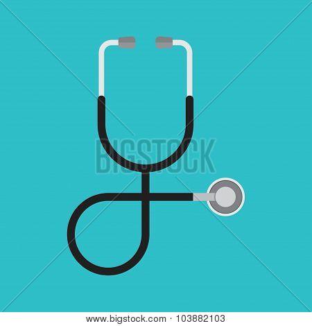 Stethoscope. Health care.