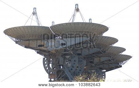 Complex Of Satellite Antennas