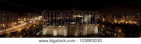 Aljaferia Night Panorama