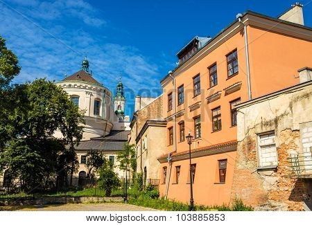 Cathedral Of Johns The Baptist And The Evangelist In Lublin - Poland
