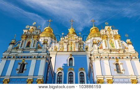 St. Michael Golden-domed Monastery In Kiev, Ukraine