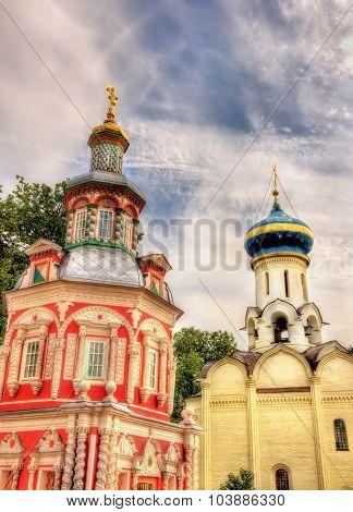 Churches In Troitse-sergiyeva Lavra - Sergiev Posad, Russia