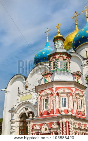 The Assumption Cathedral Of The Trinity Lavra Of St. Sergius