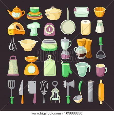 Kitchen Utensils.