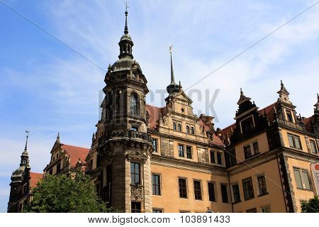 Dresden historic castle or Royal palace, Germany
