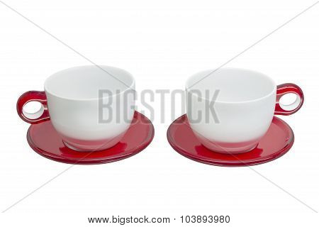 cup on a saucer
