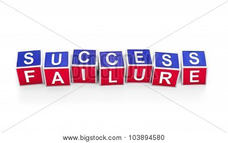 Dice: success / failure