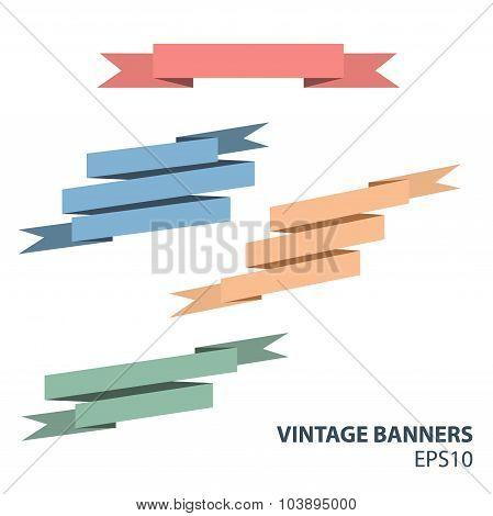 vintage banners
