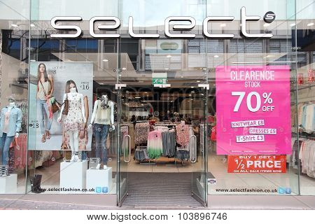 Select Clothes Shop