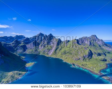 Lofoten From Air