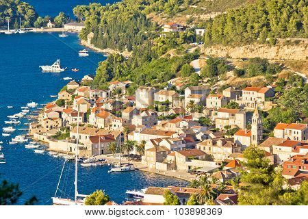 Town Of Vis Aerial View