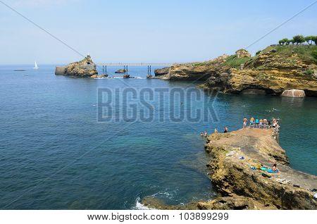 Biarritz Cliff