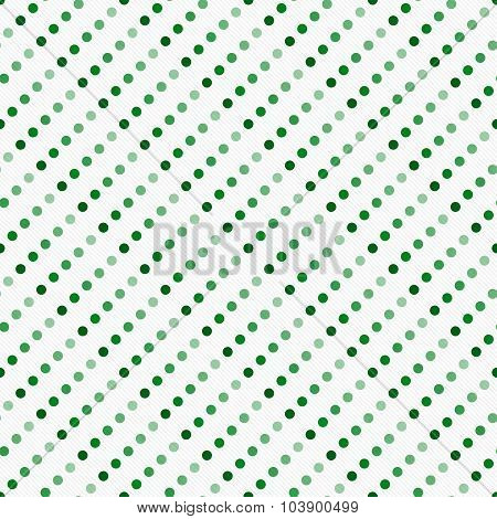 Green Multicolored And White Polka Dot  Abstract Design Tile Pattern Repeat Background