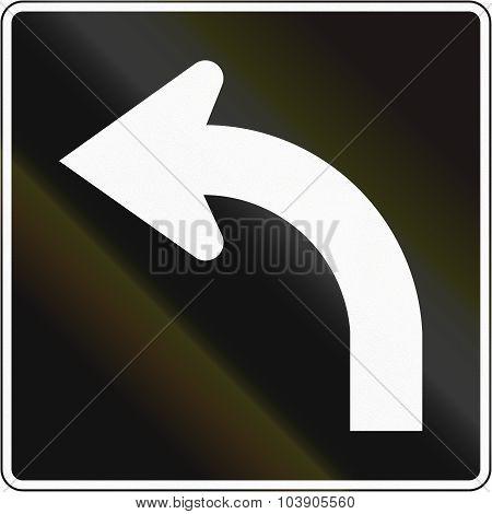 Left Turn Lane In Canada