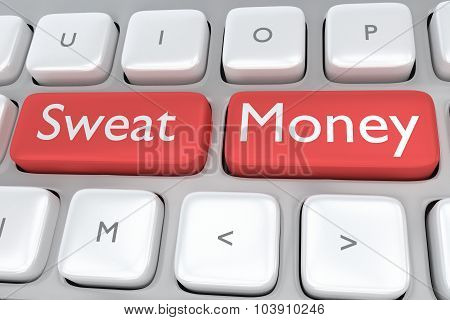 Sweat Money Concept