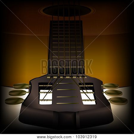 acoustic guitar close-up 2