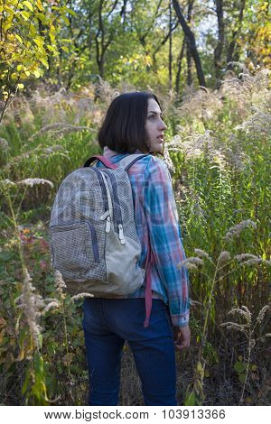 The Girl With The Backpack.