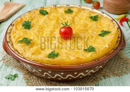 Casserole With Potatoes And Minced Meat